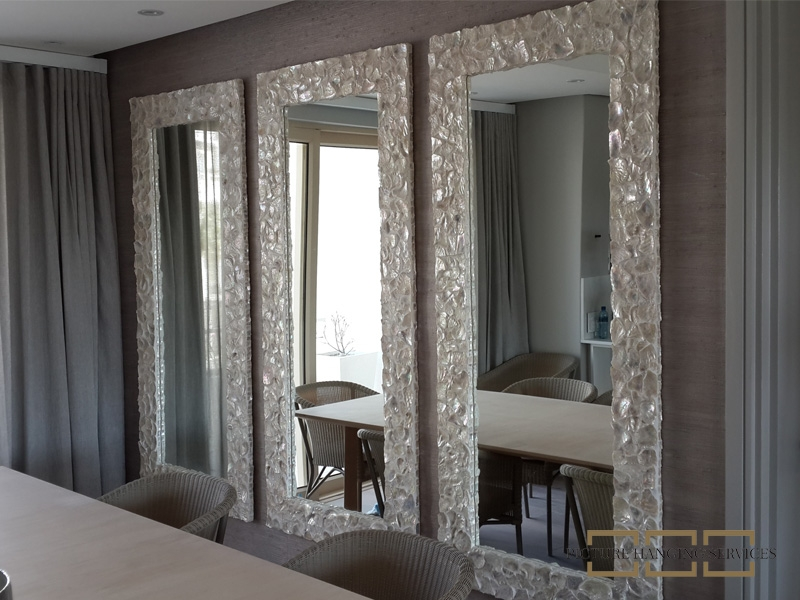 Picture Hanging Services ⋆ Mirror Hanging